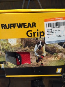 They sell overpriced dog running shoes