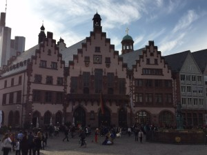 The Rathaus (aka city hall)