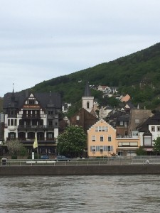 one of the many cute towns along the river