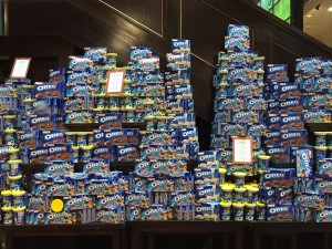 largest display of oreos i've ever seen