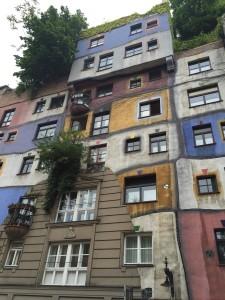 Hundredwasser's apartment building