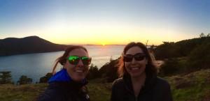 Sunset in Anacortes WA November 2015