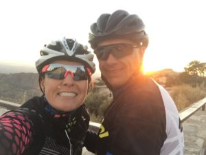 sunset at Windy Point - brr!